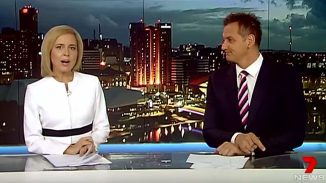 Newscaster Drops F-Bomb After Accidentally Saying 'Bongs' Instead Of 'Gongs'