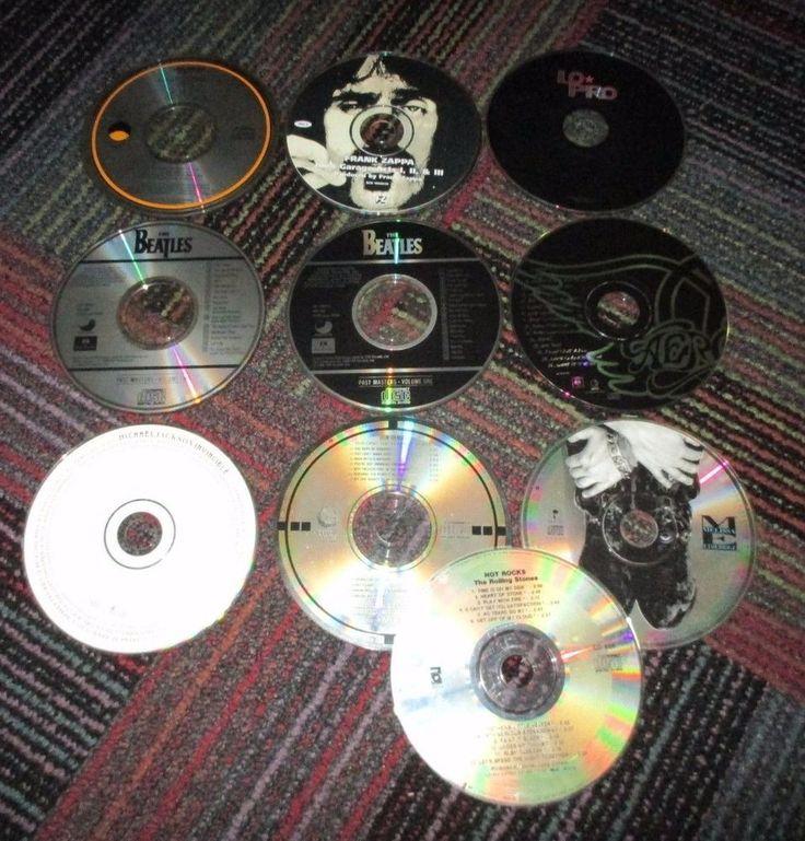 LOT OF 10 70'S, 80'S, 90'S POP/ROCK MUSIC CD'S, MICHAEL JACKSON,BEATLES,STONES +