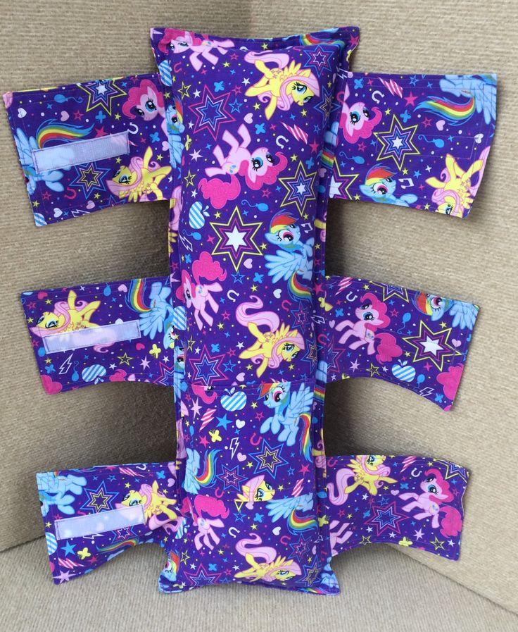 My Little Pony Seat Belt Pillow, Seat Belt Pillow, Car Booster Seat Belt Pillow, Child Seat Belt Pillow by Tadpolequiltsandmore on Etsy