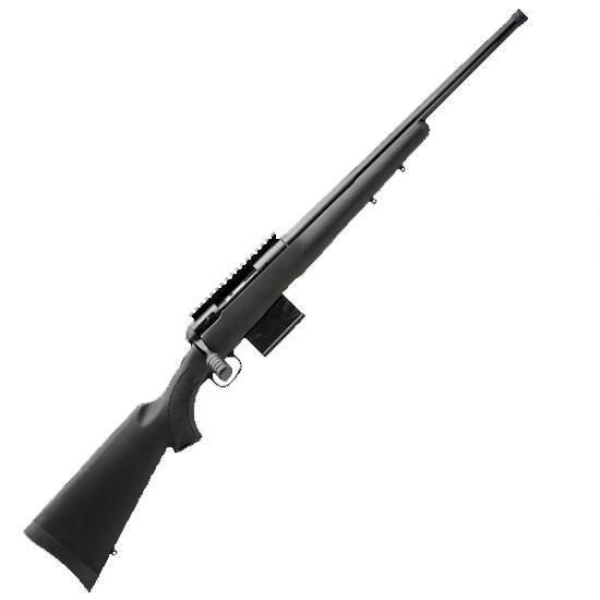 """Savage Model 10 FCP-SR Bolt Action Rifle .308 Win 24"""" Fluted Heavy Barrel 10 Rounds Synthetic Stock Threaded Barrel Matte Black"""