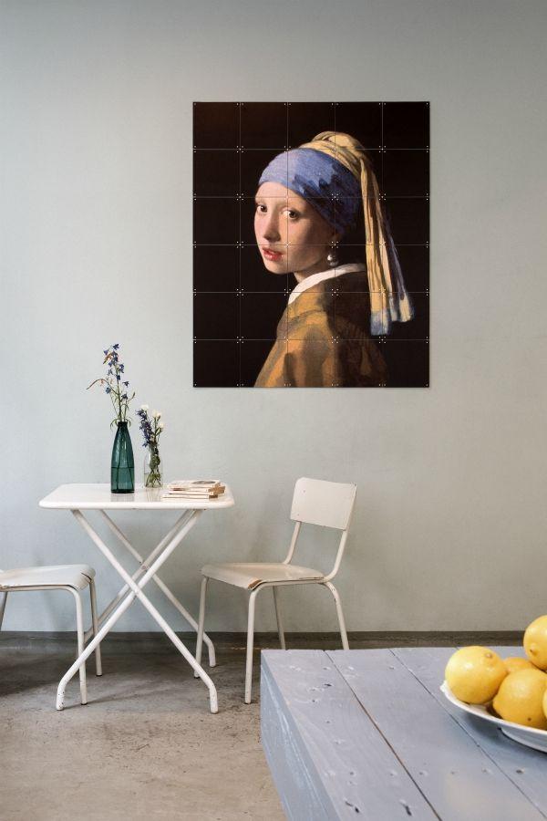 Ixxi Madchen Mit Dem Perlenohrring Vermeer 100 X 120 Cm Madchen Mit Dem Perlenohrring Perlenohrringe Und Wandgestaltung