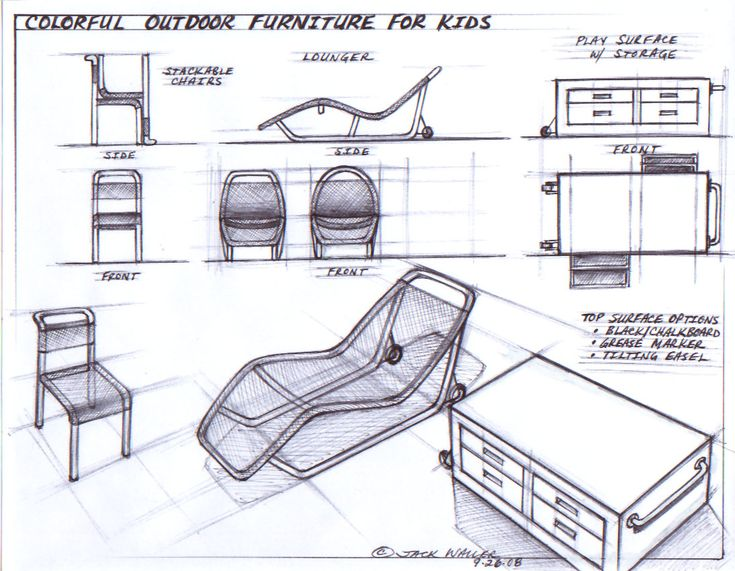 17 best images about furniture sketch layout on pinterest for Furniture design sketches