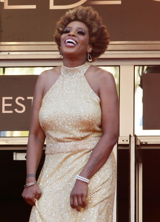 Macy Gray at the Cannes Film Festival.