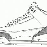 Jordan Shoe Coloring Pages Az Coloring Pages with regard to Jordan Coloring Pages Shoes for Property