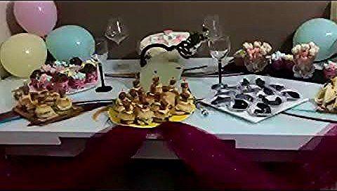 طاولة عيد الميلاد للاطفال ادخلي تاخدي افكار جديدة Youtube Table Decorations Birthday Candles Candles