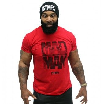 CT Fletcher - Mad Man Tee I want more womens clothes options though. I want shirts and shorts that don't have my ass hang out. What woman can get in a good workout looking like that? The gym ain't a damn club its where you go to sweat like a pig and push some weight.