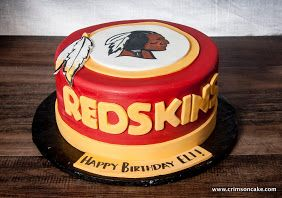 Redskins Cake