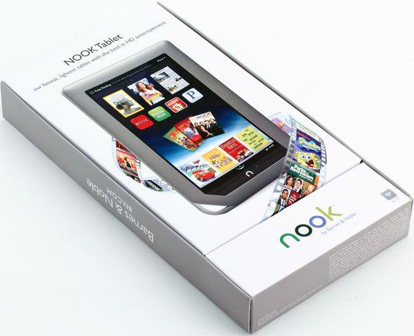 Nook Tablet Packaging