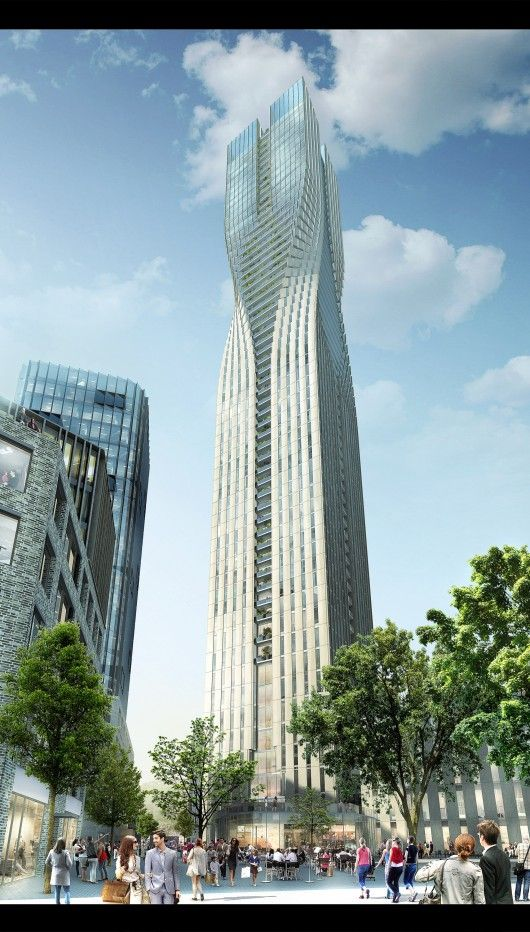 SOM Wins Competition for Sweden's Tallest Tower