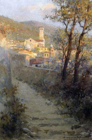 Giuseppe Mentessi - Basilica di S. Chiara ad Assisi, 1918