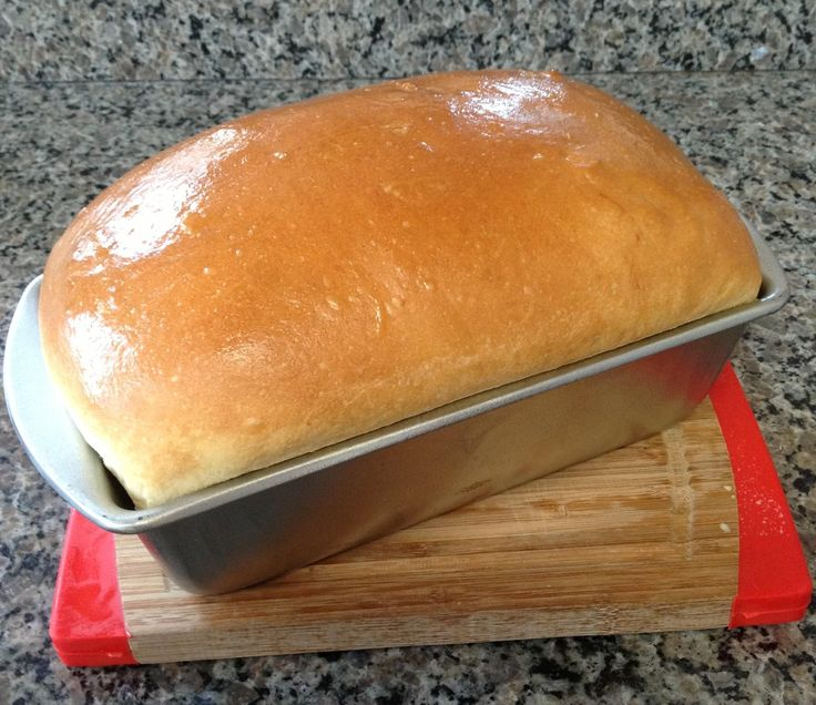 My personal favorite basic white bread recipe for the bread machine....I add 1/2 stick of melted butter to mine during the kneading process which adds to it's fabulous-ness! :) (Bread Recipes Easy)