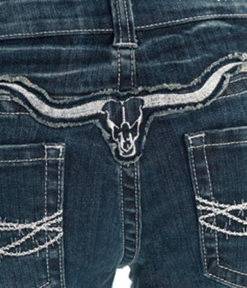 "@Lisa Phillips-Barton Phillips-Barton Phillips-Barton Phillips-Barton Phillips-Barton Towns !!!!!!!!!!!!!! NEW ""Cowgirl Tuff"" Longhorn Silver Jean"