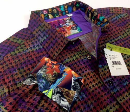 Robert-Graham-Men-Vintage-Geometric-Patterned-Jacquard-Sport-Shirts-Classic-Fit