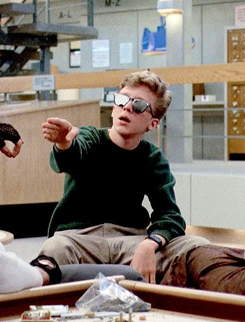"""""""Chicks can not hold their smoke, dat's what it is."""" - Brian, The Breakfast Club (1985)"""