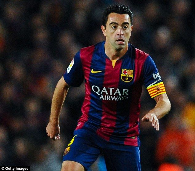 Barcelona legend Xavi hopes to see Scotland at the 2018 World Cup in Russia