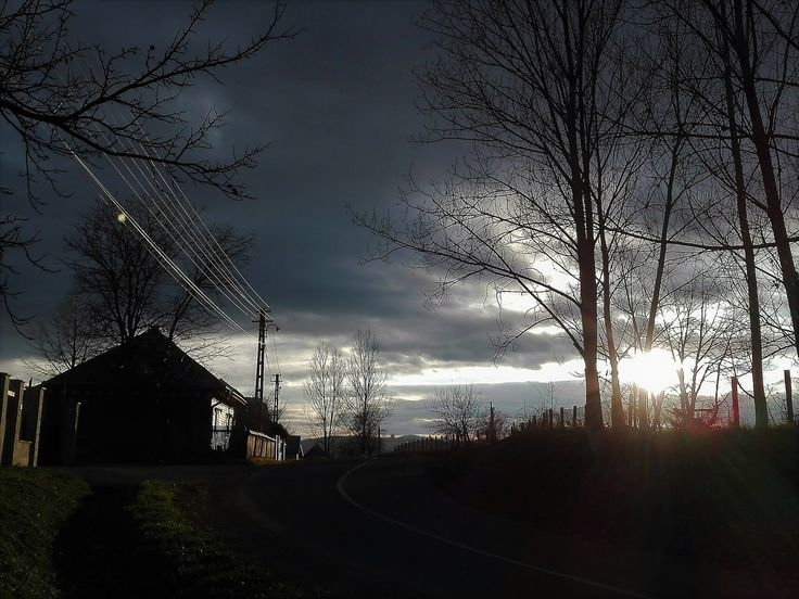 https://flic.kr/p/21GBmhU | Sunset in Bucovina | Winter - North Romania