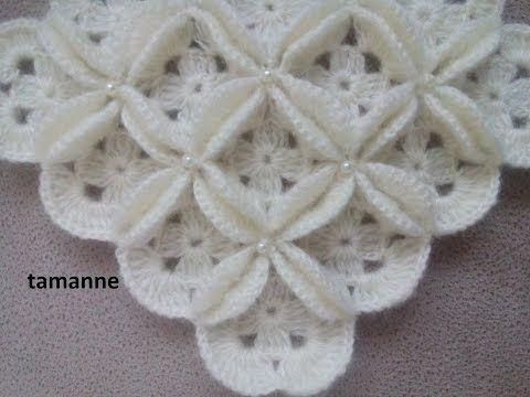 Kır Çiçekleri Bebek Battaniyesi Yapılışı - YouTube