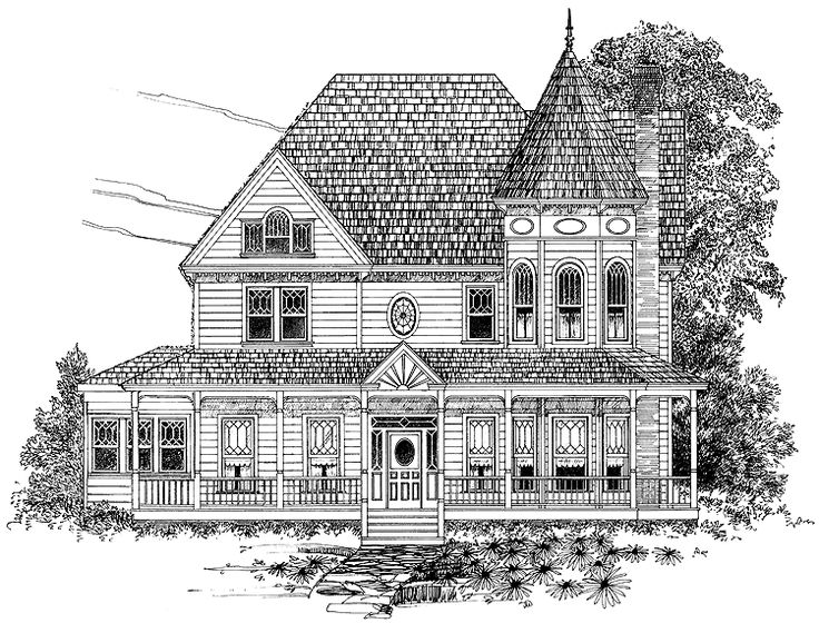 Best 25 queen anne houses ideas on pinterest beach for One story queen anne