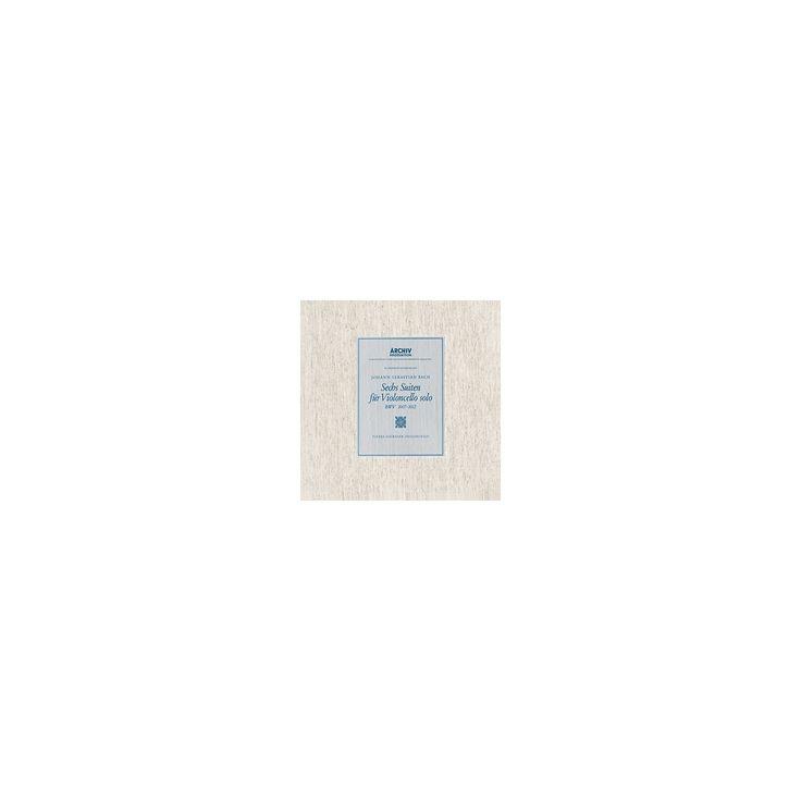 Pierre Fournier - Bach:6 Cello Suites Bwv1007 1008 1009 (Vinyl)