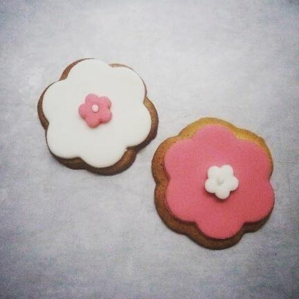 flower cookies - Cake by ggr