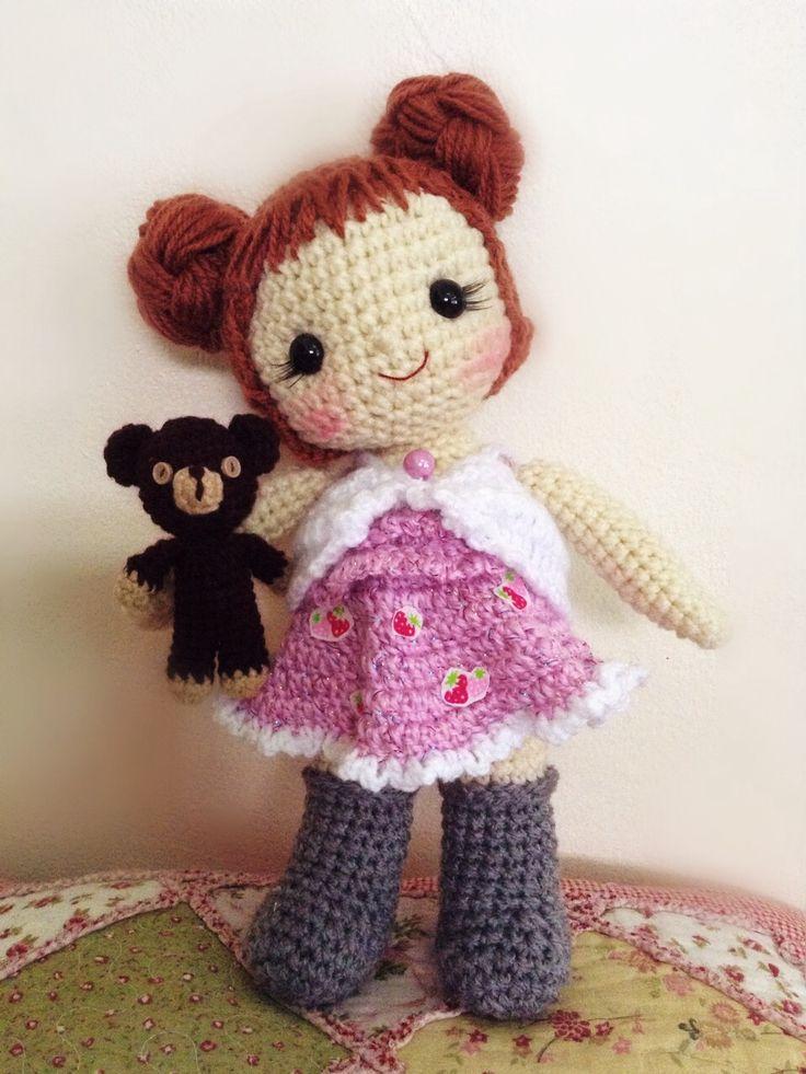 crochetdoll puppen pinterest h keln ideen puppen und inspiration. Black Bedroom Furniture Sets. Home Design Ideas