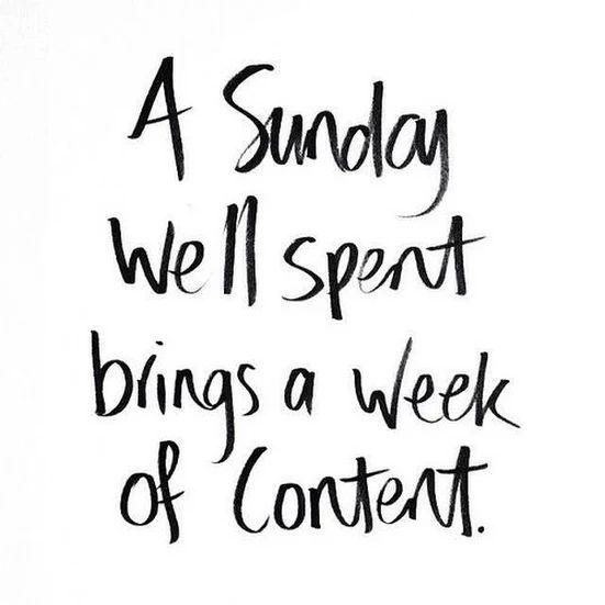 Indeed! #sunday #candidessentials #content #weekend - Candid Essentials - Google+