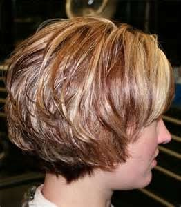 Short Hairstyles For Fine Hair --love color!