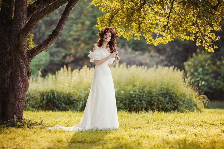 Платья : стиль Рустик (рустикальные) фото : 313 идей 2016 года на Невеста.info