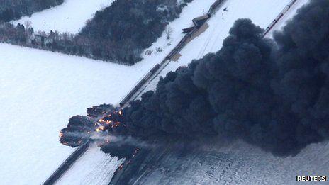 Explosion en Dakota del Sur