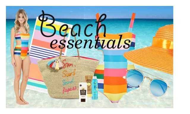 """Sun's Out: Beach Day"" by relixandria ❤ liked on Polyvore featuring Sunnylife, Mara Hoffman, Rebecca Minkoff, Sun Bum, COOLA Suncare, Lavanila, Ray-Ban, beach, essentials and relixandria"