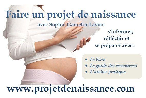 Carnet de grossesse et de naissance naturelle : le projet de naissance
