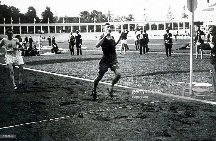 Nieuwsfoto's : Olympic Games, Antwerp, Belgium, Men's 800...