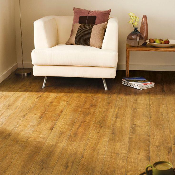 Colours Concertino Kolberg Oak Effect Laminate Flooring 1.48m² Pack | Departments | DIY at B&Q