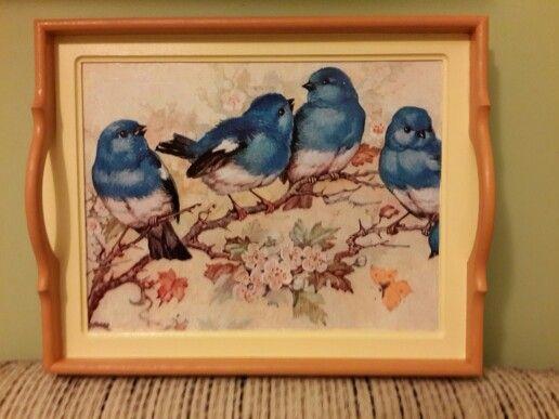 Dekupaj Tepsi (Birds)