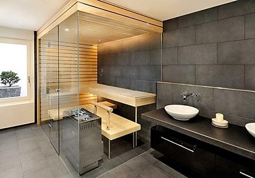 Sauna for the bathroom