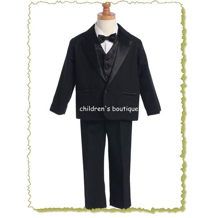 Tuxedo With Vest And Bowtie
