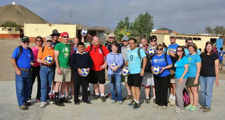 Tire World customer, S. Essey, brought some Tire World soccer balls to a village just south of Lima, Peru this summer.  While there, he and twenty others built earth-quake resistant homes for this small village.  Thank you Stewart for allowing Tire World to be part of your amazing service adventure.  Enjoy the pics!