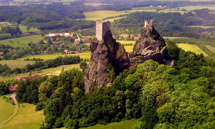 Trosky Castle - Constructed in the second half of the 14th century.