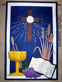 First Communion Banner {Number 3} - Catholic Inspired