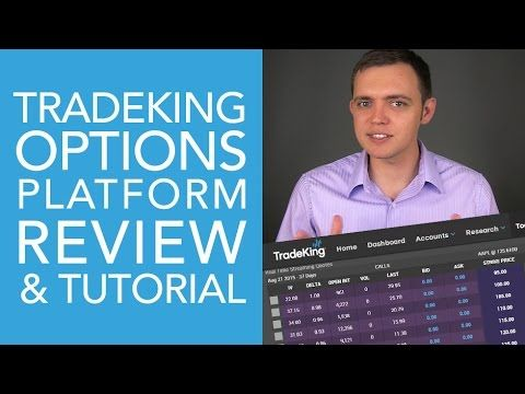 TradeKing Options Platform Tutorial and Review (Part 3) - YouTube