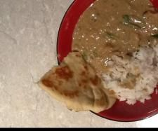 Coconut cream chicken curry