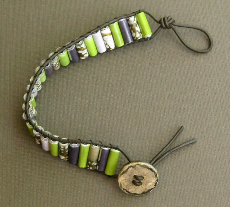 Image result for paper bead jewelry