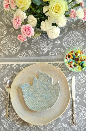 Happy Easter! Happy Pesach! from Lee Wolfe Pottery
