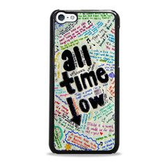 All Time Low Art Lyric Quote Iphone 5c Cases