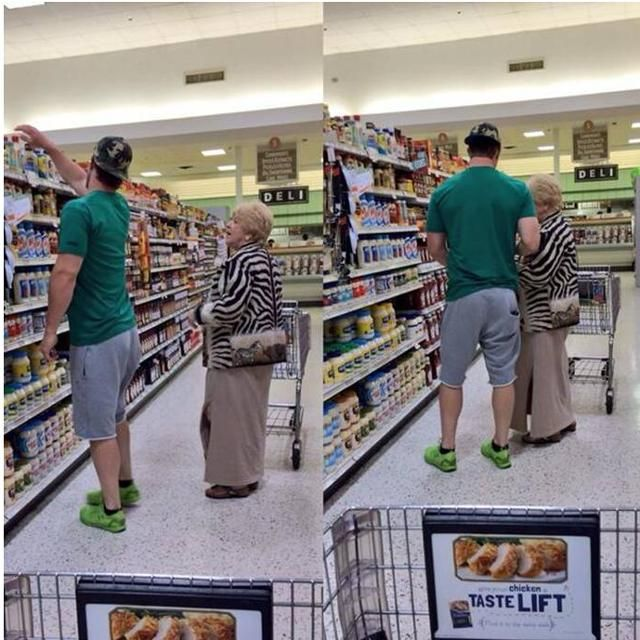 Bryce Harper helps elderly woman with her grocery shopping // BRYCE!!!  MY HEART!!!!