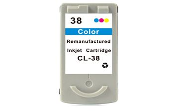 CANON CL-38 COLOR Cartucho de Tinta Remanufacturado Compatible 2146B001