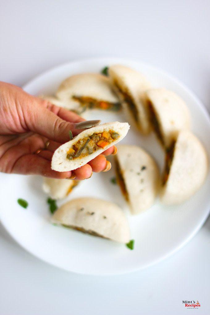 Stufffed Rava Idli Recipe In Hindi | visit http://www.mintsrecipes.com
