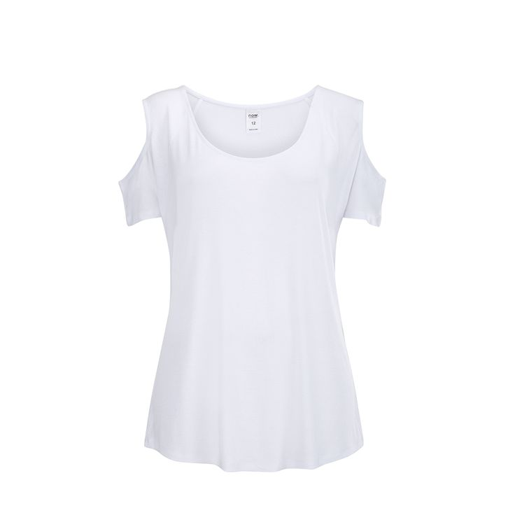 Short Sleeve Cold Shoulder Top   Kmart