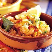 Recept - Gamba's al ajillo - Garnalen met knoflook - Allerhande