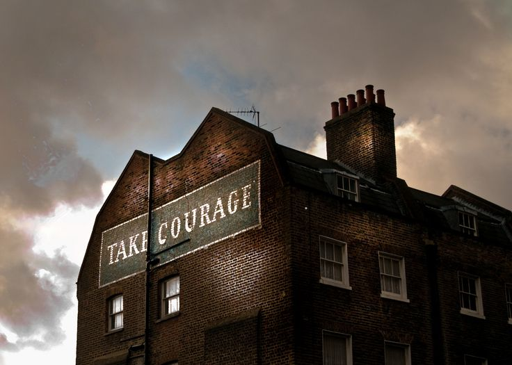 https://flic.kr/p/bkSzmi | London, December 2011. | Take Courage.